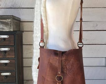 The Jenny Hobo Bag-Light Brown Kodiak