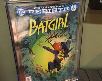 CGC SS Signature Comic Book Batgirl #1 Francis Manapul