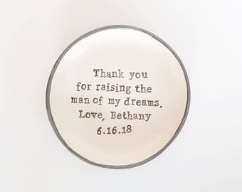 Mother of the groom, mother of the bride gift, thank you for raising the man of my dreams, woman of my dreams, weddings, personalised gifts