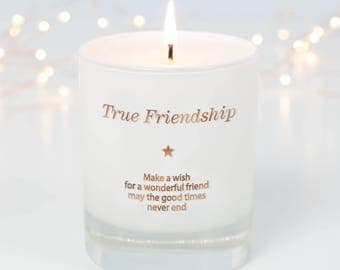 Gift For Friend, Friendship Gift, Christmas Gift Friend, Bff, Best Friends Gifts, Gift For Her, Birthday Gift For Friend, Scented Candle