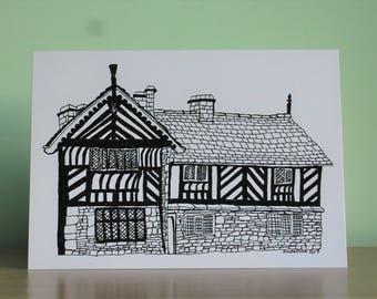 Bishops' House, Sheffield Print