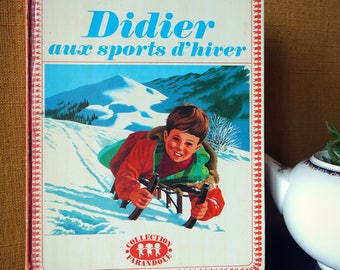 "Album shown ""Didier in winter"" - 1966 vintage book - children's book"
