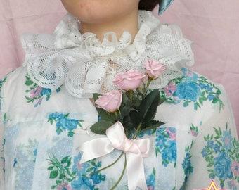 Pink bouquet brooch