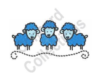 Sheep - Machine Embroidery Design