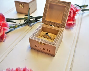 Ring Box / Wedding Ring Box