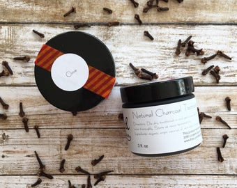 Original Charcoal Toothpaste | CLOVE | Natural Toothpaste