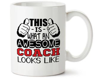 This Is What An Awesome Coach Looks Like, Coach gift, Gift for coach, Best coach ever, Gift for coach, Best coach ever,