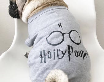 HP- Dog Clothes, Dog Clothing, Dog shirt, Pupppy Clothes, Puppy Shirt, Harry Potter