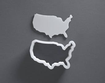 USA cookie cutter, United States Of America