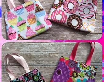 Child's Reversible Purse//small child's purse