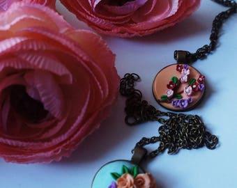 Handmade neck pendant:)