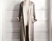 vintage sateen robe (reversible)