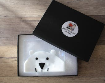 Soap Dish / Spoon Rest - Polar Bear