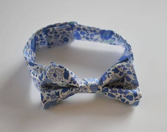 Bow tie in liberty for children and men