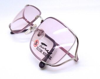 Tura 455 Vintage Designer Rectangular Spectacle Frames Glasses