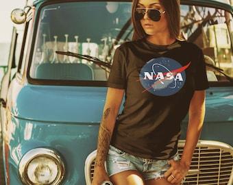 NASA T-Shirt, Men's & Women's NASA T-Shirt, Short Sleeve Shirt