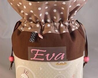 Customizable kawaii pouch for girl