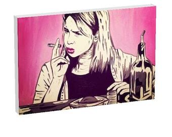 Bridget Jones Canvas Print