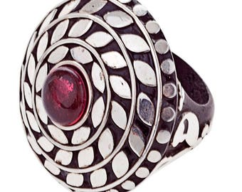 Fallon Ring silver plated (R15: 18)
