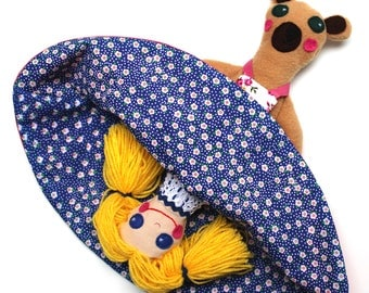 Goldilocks/Mummy Bear Topsy Turvy Doll