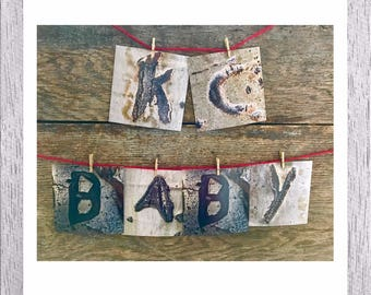 KC Baby Print - Nursery Decor