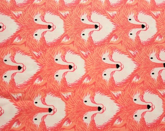 Cotton + Steel, Magic Forest, I Heart Unicorn, Sarah Watts, Woodland Animals, Foxes, Coral, RJR Fabrics, Cotton Fabric, Girls Dress, Quilt
