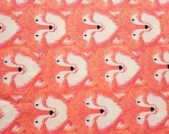 Cotton + Steel, Magic Forest, I Heart Unicorn, Sarah Watts, Woodland Animals, Foxes, Coral, RJR Fabrics, Cotton Fabric, Girls Dress, Quilt