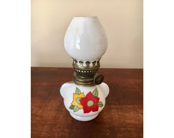 Vintage gas lamp small