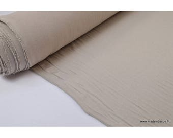 Ultra soft Jersey viscose bamboo color Taupe fabric
