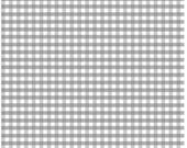 Gray Gingham Fabric - Gray and White by Riley Blake Designs - c450 40 Gray Medium Gingham RBD - Gingham Quilting Cotton - Cotton by the Yard