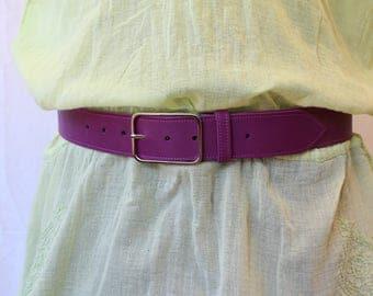 women belt. leather belt; Purple belt; Purple leather belt. women leather belt