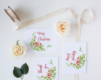Christmas card bundle, Card bundle, Christmas card pack, Gifts, Just because
