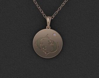 Custom Order necklace, Zodiac Jewelry, Zodiac Necklace, Rose Gold Jewelry