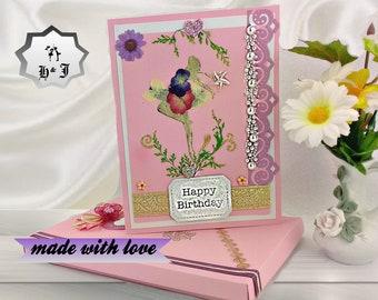 Birhday cards. Teen girl birthday. Boxed card. Teenager gift. Birthday card friend. Wife birthday gift. Card for her. Sisiter birthday.
