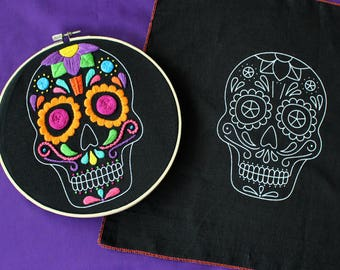 """Sugar Calaverita"" embroidery pattern"
