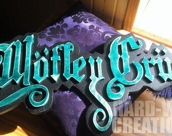 Decorative wall wooden - Mötley Crüe