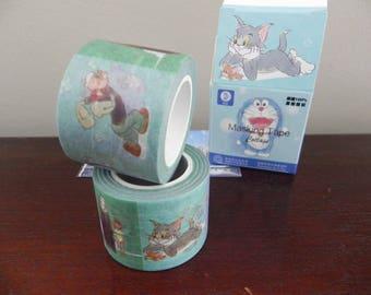 Washi tape CARTOON 3 cm x 10 m