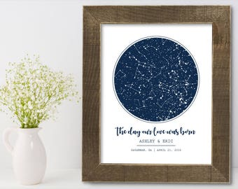 Gift for Groom from Bride Personalized Wedding Day Engagement Bridal Shower Present Couple to Groom Unique Modern Home Decor Art