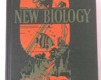 "Vintage Science Textbook ""New Biology"" 1937 Smallwood Reveley and Bailey - Retro Geek Literature"