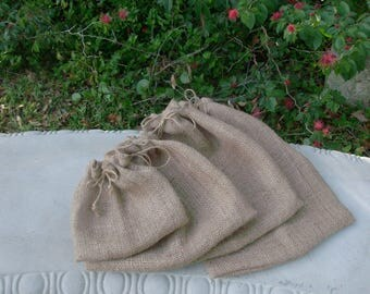 Reusable Produce Bag Set, Produce Bag, Produce Veggie/Fruit Bag, Grocery Bag, EcoFriendly Produce Bag, Natural Fabric Market Bag, Zero Waste