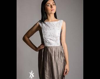 Dress 100% silk