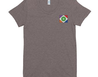 Women's short sleeve soft t-shirt