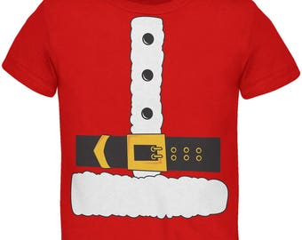 Santa Claus Costume Toddler T-Shirt