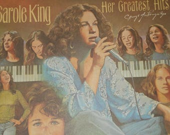 Carole King vinyl record album, Her Greatest Hits vintage vinyl record