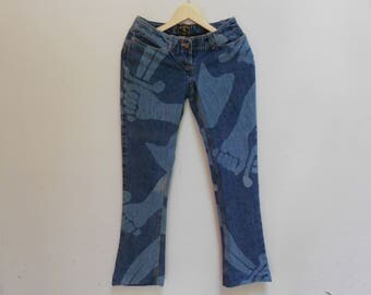 vivienne westwood anglomania bootcut women jeans vintage vivienne westwood anglomania made in italy