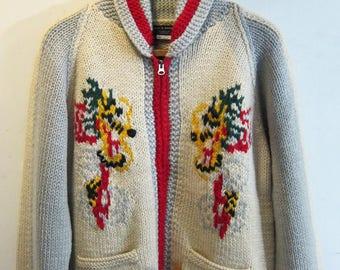 Allen & Hanson Cowichan Sweater Dragon
