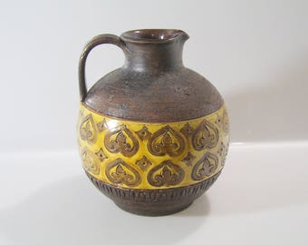 Beautiful vase  by Bitossi, Aldo Londi, Italian Pottery