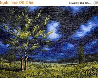80% Discount Landscape, Contemporary Art, Original Artwork, Office Decor, Wall art, Beautiful art, Painting, Acrylic, Kitchen Painting, Calm