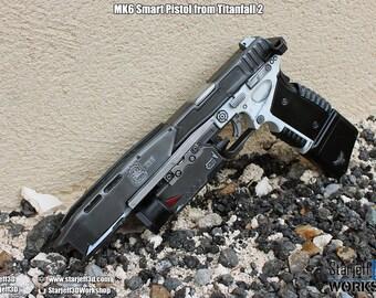 Mk6 Smart Pistol from Titanfall 2 [Fan-art]