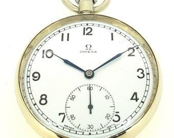 Restored Omega pocket watch c.1944